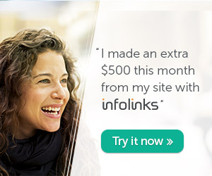 Earn Money from Your Site With Infolinks